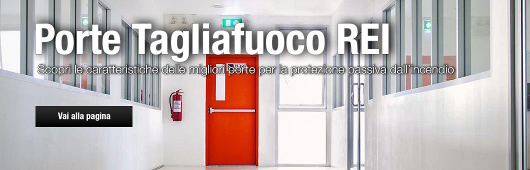 Porte tagliafuoco REI antincendio Arezzo